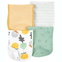 carter's® 4-Pack Striped Veggie Burp Cloths