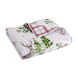 Levtex Home Sleigh Bell Reversible Quilted Throw Blanket