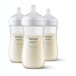 Philips Avent 3-Pack Natural 1 oz. Bottles in Clear