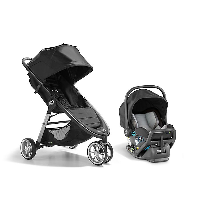 Alternate image 1 for Baby Jogger® City Mini® 2 Travel System in Jet