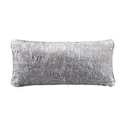UGG® Mammoth Bolster Pillow in Dark Gray