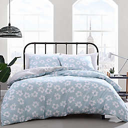 City Scene® Payson Floral Comforter Set in Light Green