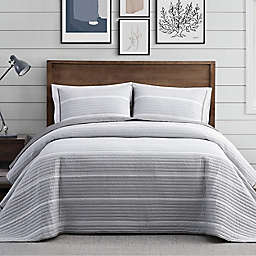 Brooklyn Loom® Niari Yarn Dye Stripe Quilt Set