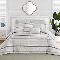 Tommy Bahama® Sandy Beach Comforter Bonus Set in Grey