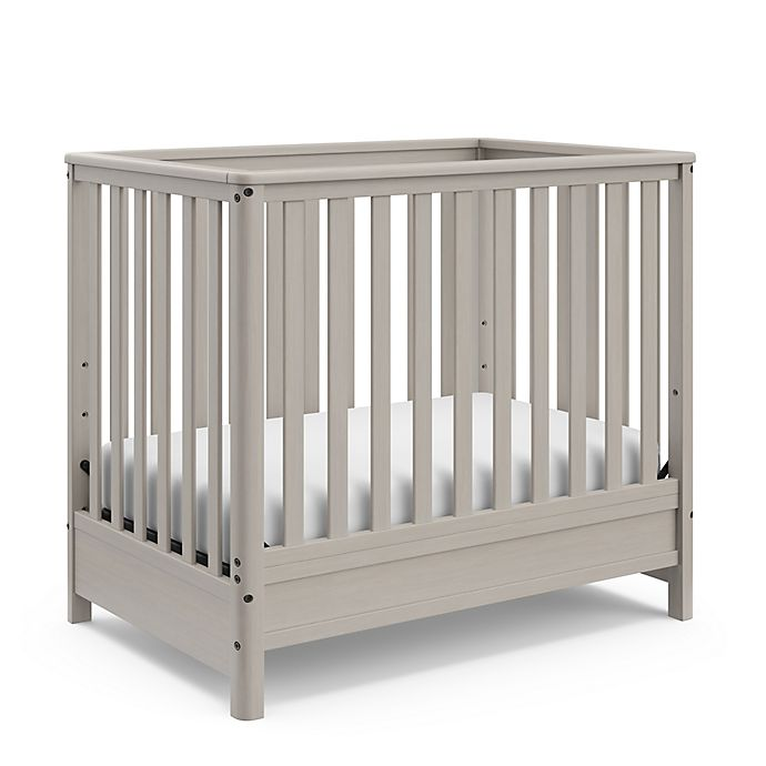 Alternate image 1 for Motherly Timeless 4-in-1 Convertible Mini Crib