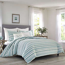 Tommy Bahama® Clearwater Cay Full/Queen Duvet Cover Set in Silver Blue