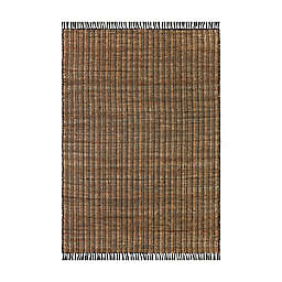 Bee & Willow™ Stripe Handcrafted Rug in Black/Natural