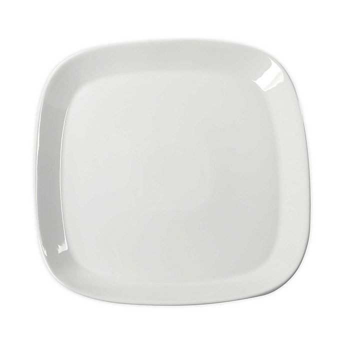 Alternate image 1 for Our Table™ Simply White Soft Square Dinner Plate