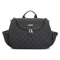 Storksak® Poppy Quilt Backpack Diaper Bag in Black