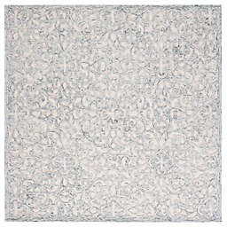 Safavieh Trace Linas 6' Square Area Rug in Charcoal