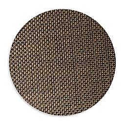 Studio 3B™ Bistro Woven Vinyl Round Placemats in Coffee (Set of 4)