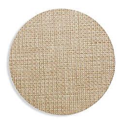 Studio 3B™ Bistro Woven Vinyl Round Placemats in Beige (Set of 4)