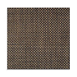 Studio 3B™ Bistro Woven Vinyl Square Placemats in Coffee (Set of 4)