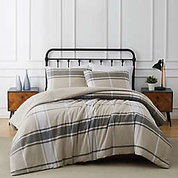 Truly Soft® Preston Plaid Flannel Duvet Set