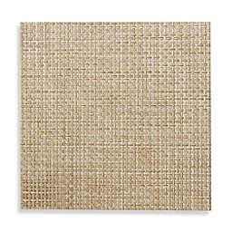 Studio 3B™ Bistro Woven Vinyl Square Placemats in Beige (Set of 4)