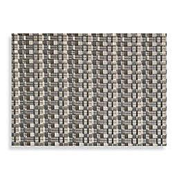 Studio 3B™ Cabas Woven Vinyl Placemats in Gunmetal (Set of 4)