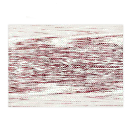 Alternate image 1 for Studio 3B™ Otto Woven Vinyl Placemats in Wine (Set of 4)