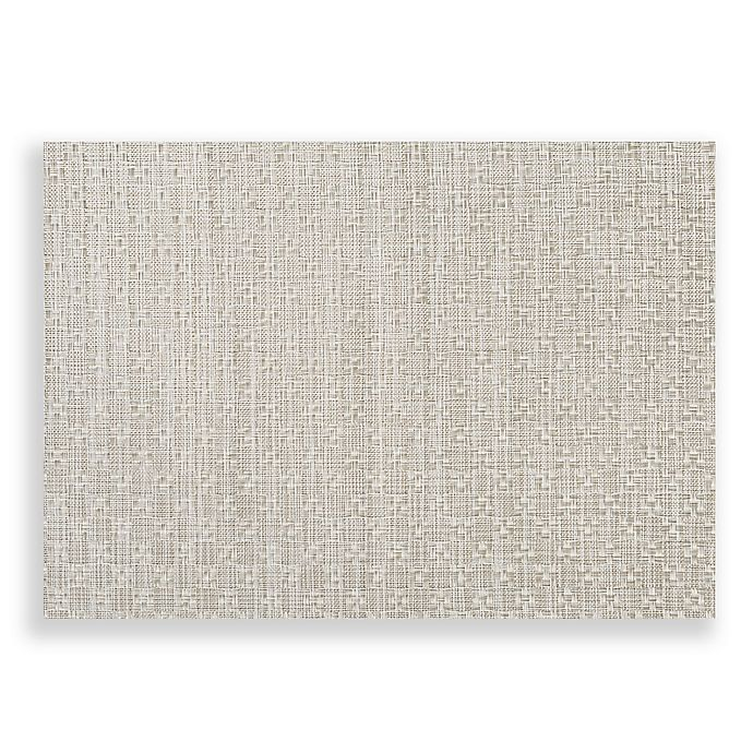 Alternate image 1 for Studio 3B™ Humberstone Woven Vinyl Placemats in Silver (Set of 4)