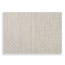 Studio 3B™ Humberstone Woven Vinyl Placemats in Silver (Set of 4)