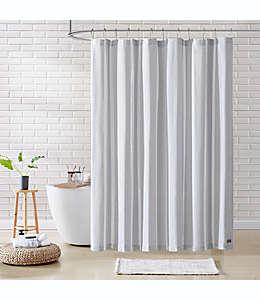 Cortina de baño de algodón UGG® Ardelia de 1.82 x 1.82 m color gris foca