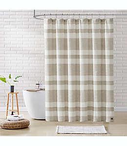 Cortina de baño de algodón UGG® Ramone de 1.82 x 1.82 m color avena