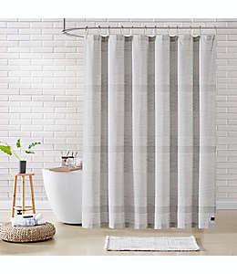 Cortina de baño de algodón UGG® Ramone de 1.82 x 1.82 m color gris foca