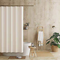 Haven™ 70-Inch x 72-Inch Recycled Cotton Waterproof Shower Curtain Liner in Ivory