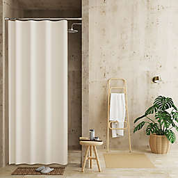 Haven™ 54-Inch x 78-Inch Recycled Cotton Waterproof Shower Curtain Liner in Ivory