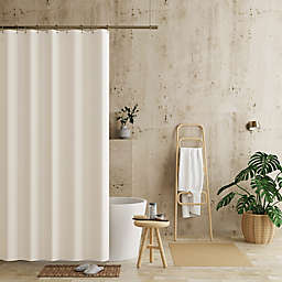 Haven™ 70-Inch x 84-Inch Recycled Cotton Waterproof Shower Curtain Liner in Ivory