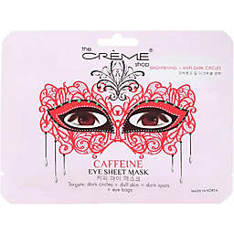 The Crème® Shop 0.6 oz. Caffeine Masquerade Eye Sheet Mask
