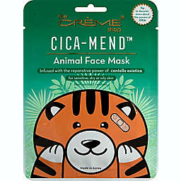 The Crème® Shop Cica-Mend™ Animated Tiger Face Mask