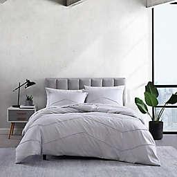 City Scene® Chloe Solid Comforter Set in Light Grey