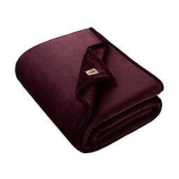 UGG® Big Sur Oversized Throw Blanket in Cabernet