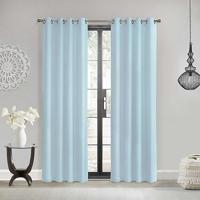 Alternate image 1 for Commonwealth Home Fashions Rhapsody Light Filtering Grommet Window Curtain Panel (Single)