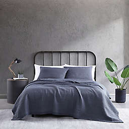 City Scene® Cloud Solid Quilt Set in Grey