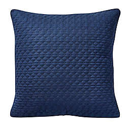 Canadian Living™ Bonfield European Pillow Sham in Navy