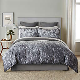 Canadian Living Lewisporte 3-Piece Full/Queen Duvet Cover Set in Charcoal