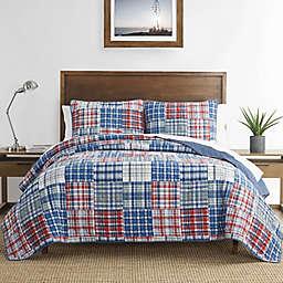 Nautica® Raeford Quilt Set in Blue