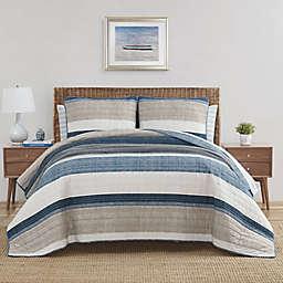 Nautica® Ridgeport Quilt Set in Denim