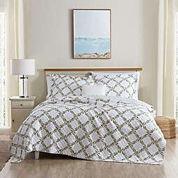 Laura Ashley® Antoinette Quilt Set in Yellow