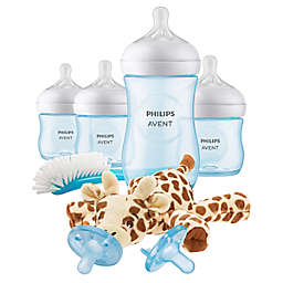Philips Avent Natural Baby Bottle Gift Set in Blue