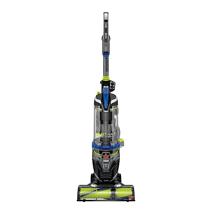 Alternate image 1 for BISSELL® Pet Hair Eraser® Turbo Rewind Vacuum Cleaner in Blue/Green