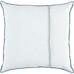 Studio 3B™ Chambray Throw Pillow with Contrast Stitching