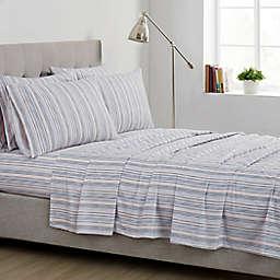 Simply Essentials Painterly Stripe Rose Full Sheet Set