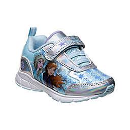 Disney® Size 8 Frozen II Sneaker in Silver/Blue