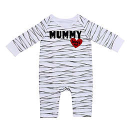 Baby Starters® Mummy Long Sleeve Coverall in White