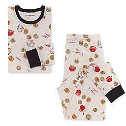 Burt's Bees Women's 2-Piece Milk and Cookies Pajama Set