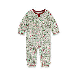 Burt's Bees Baby® Size 18M Boughs of Holly Organic Cotton Romper in Green/Multi