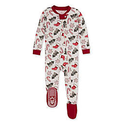 Burt's Bees Baby® Holiday Cookies Organic Cotton Sleeper in Cardinal
