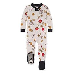 Burt's Bees Baby® Size 24M Milk and Cookies Organic Cotton Sleeper in Zinc